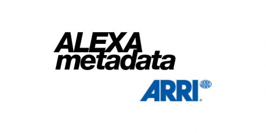 Arri ALEXA vfx Metadata Extraction Tip | fxphd