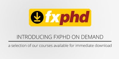 fxphd on demand: get our courses when you need them