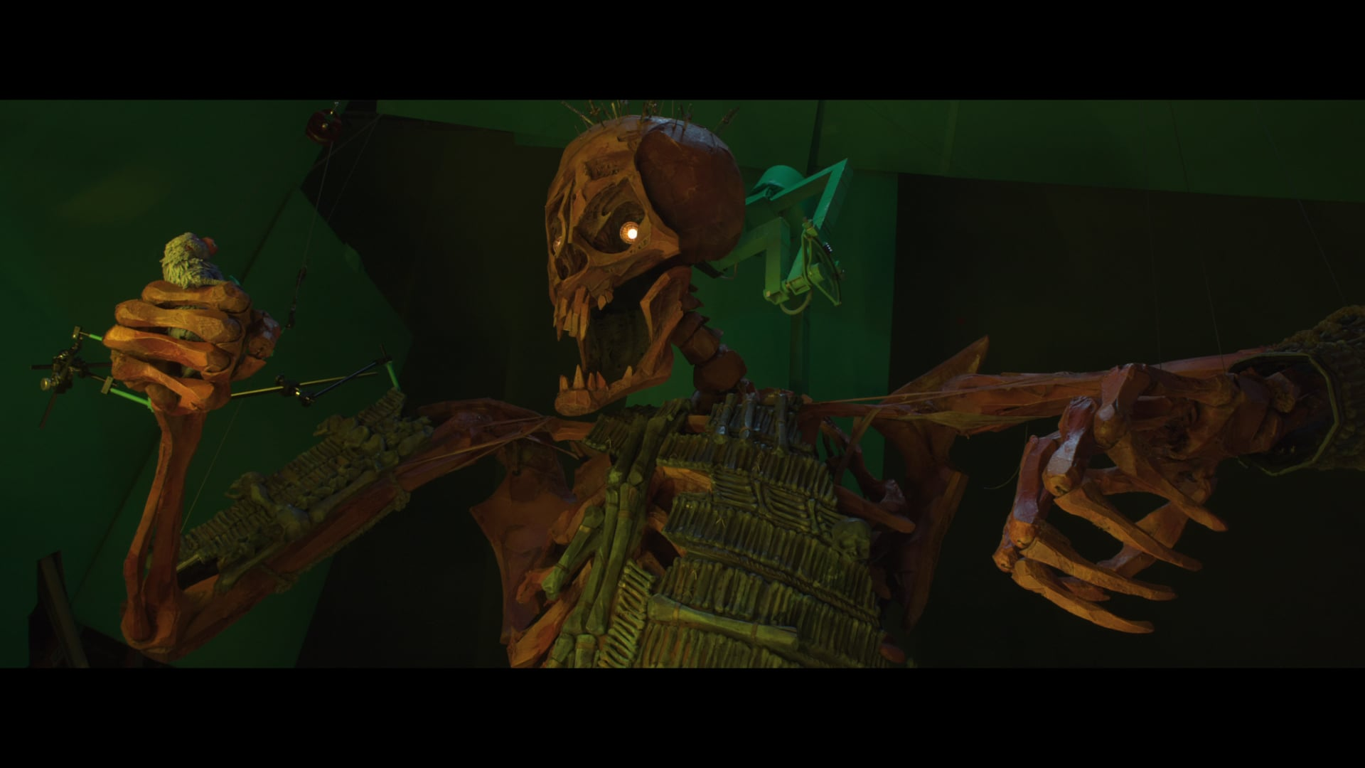 Kubo And The Two Strings Behind The Hall Of Bones Fxphd
