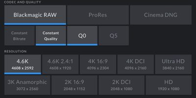 Blackmagic RAW makes its debut