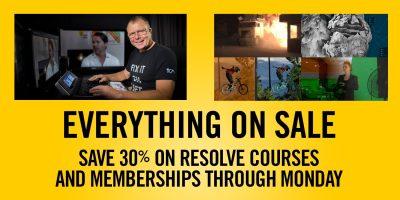 Black Friday / Cyber Monday Sale – Save 30%